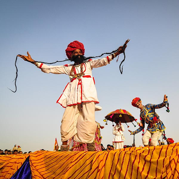 Golden Triangle Private Tour with Pushkar