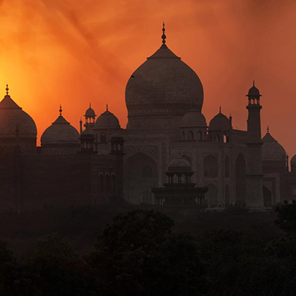 Christmas and new year Taj Mahal tour