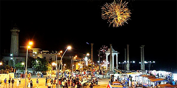 How is the Bastille Day celebrated in Pondicherry?