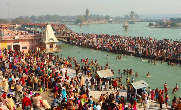 Gangasagar mela– brave the icy cold weather with a holy dip