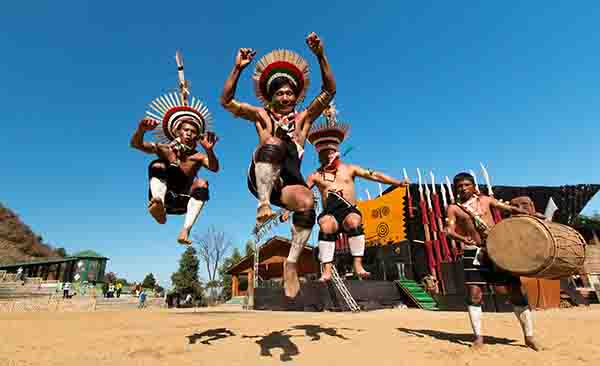 Witness the cultural diversity of India at its best during the Hornbill festival in Nagaland