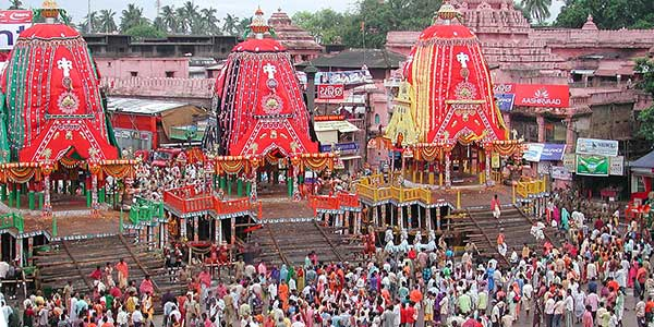 A description of the Jagannath Rath Yatra Puri festival