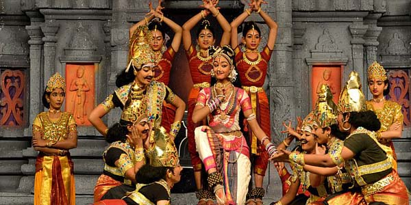 Natyanjali dance festival in Tamil Nadu India