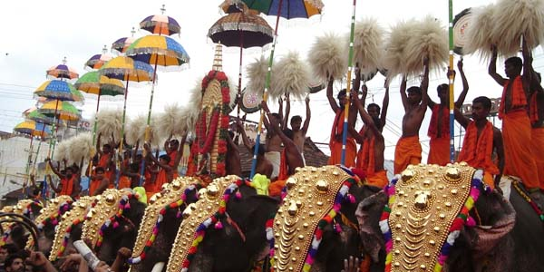 Witness the India cultural extravaganza at its best during Pooram