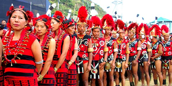 Celebration of vibrant festival of the Angami tribe of Nagaland