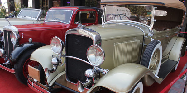 Get your heart racing with the mesmerizing sight of amazing cars at the Vintage Car festival.