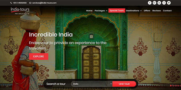 Announcing the Launch of Newly Redesigned Travel Website