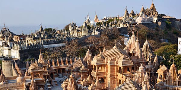 Palitana in Gujarat is the world's first vegetarian city