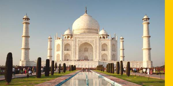 Taj Mahal is the most popular Wonder of the World on social media