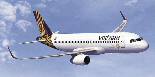 Vistara launched daily international flights from Delhi to Bangkok