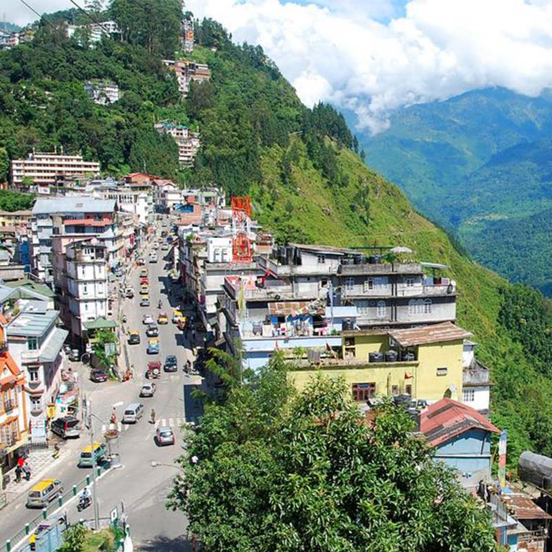 Sikkim a part of the Eastern Himalaya