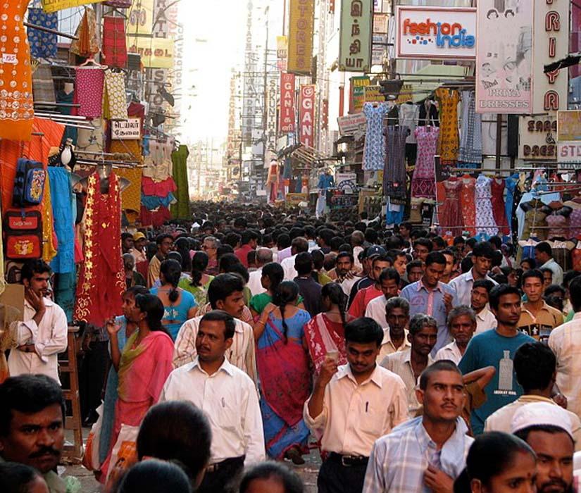 T Nagar Market