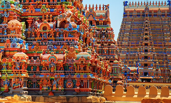 South India Temple Tour from Bangalore