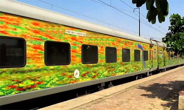 Golden triangle train tour with Khajuraho