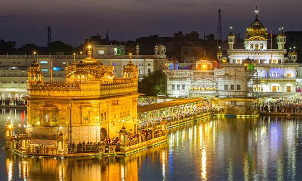 Famous Gurudwara Tour in India