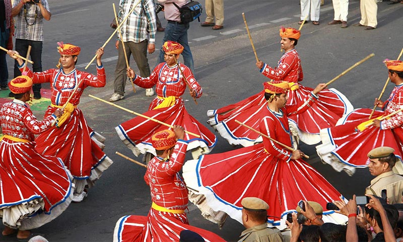 Teej Festival tour in India